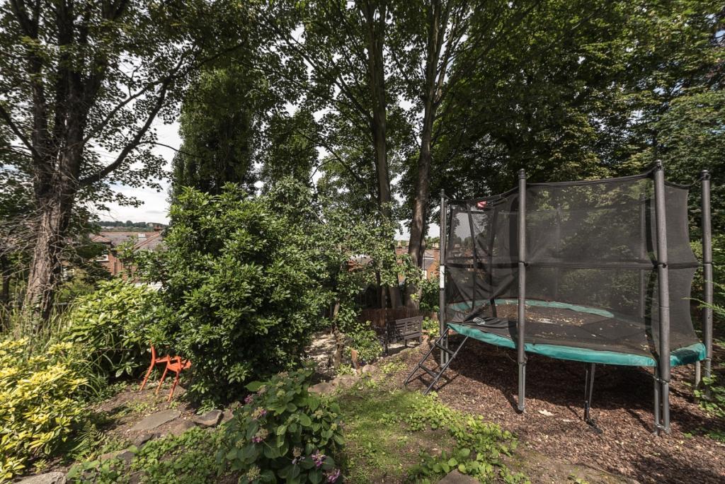 Gard trampoline