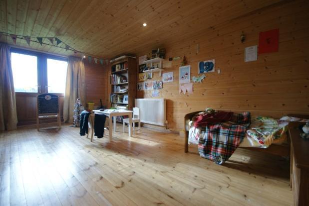 Log Cabin Bed
