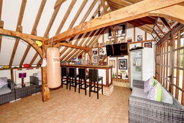 Barn/Games Room