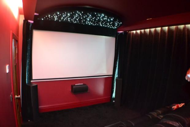 Media/cinema room