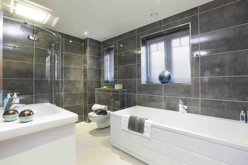 4 bedroom detached house for sale in plot 7 the banbury for Show home bathrooms