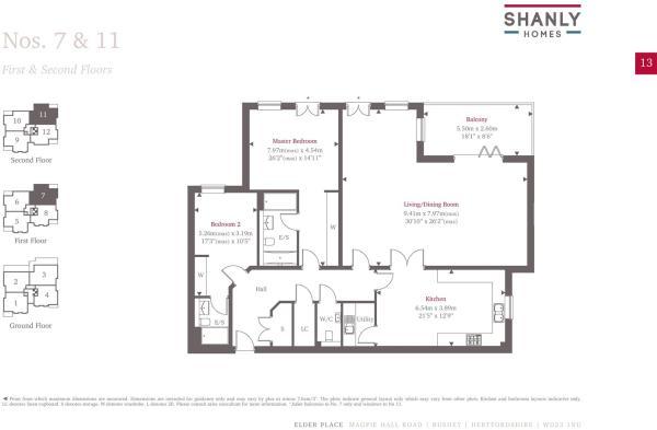Plot 7 Floorplan