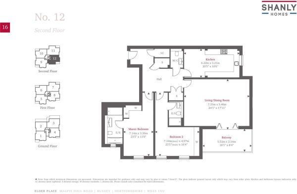Floorplan - Plot 12