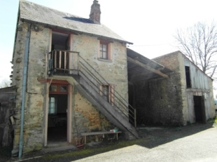 2 bed Cottage for sale in Limousin, Creuse, Lafat