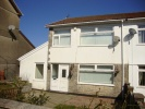 3 bed semi detached property to rent in Oakdale Road, Penrhiwfer...