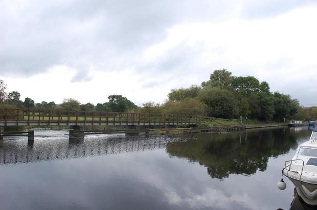 View Of Weir