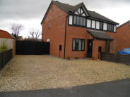 semi detached house to rent in Morton, PE10