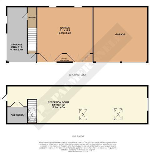 Floorplan Garage