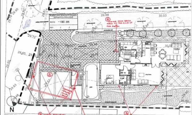 Plan of Ground...