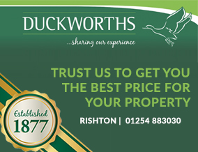 Get brand editions for Duckworths Estate Agents, Rishton