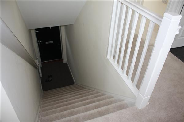 Hall, stairs &