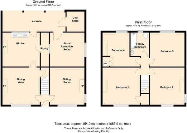Chruch House Floor P