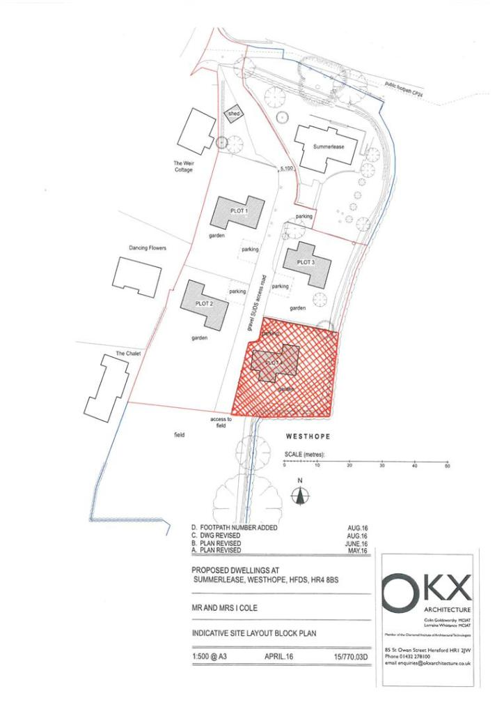 Site Plan excluding
