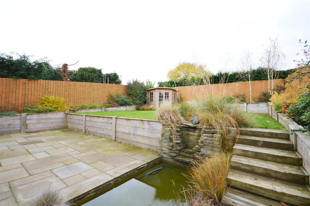 Decking and Gardens.
