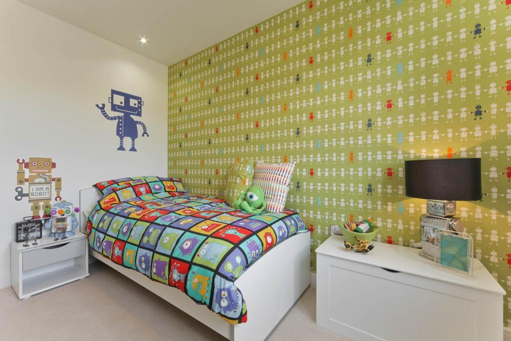 A Typical Taylor Wimpey Childs Bedroom aspect 2  4 bedroom detached house  for sale in. Childs Bedroom