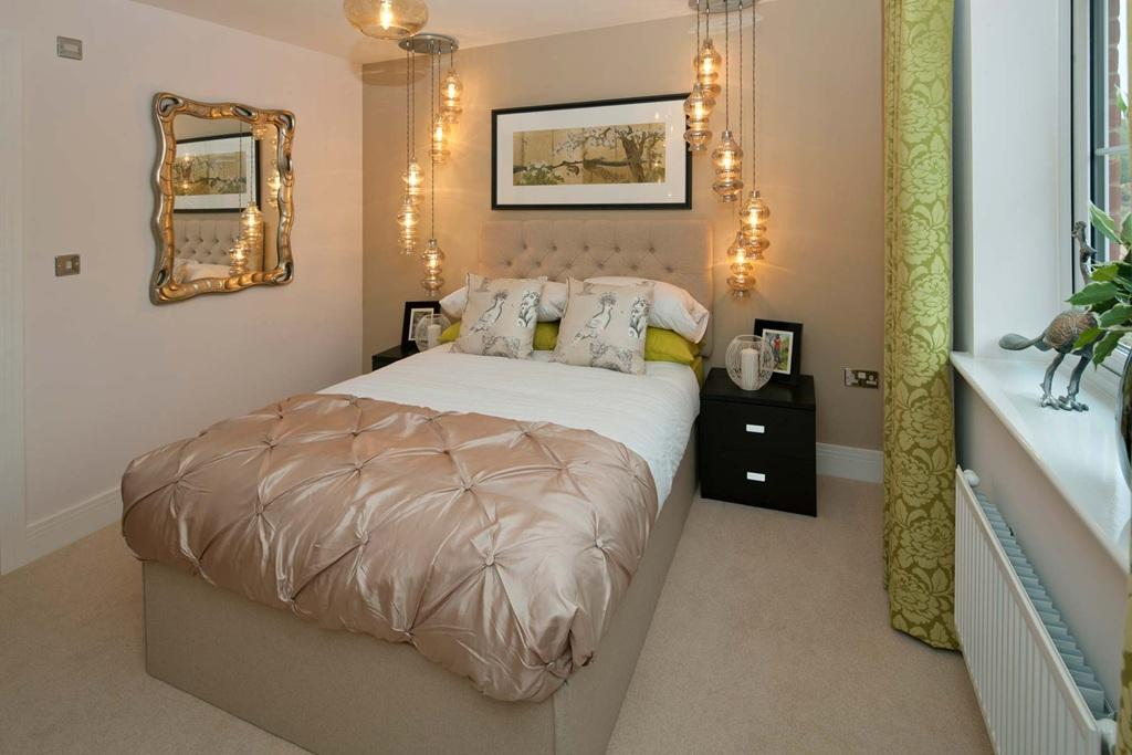 A Typical Taylor Wimpey Showhome Bedroom  4 bedroom detached house for sale  in Wakefords Corner. Show Home Bedroom   creatopliste com