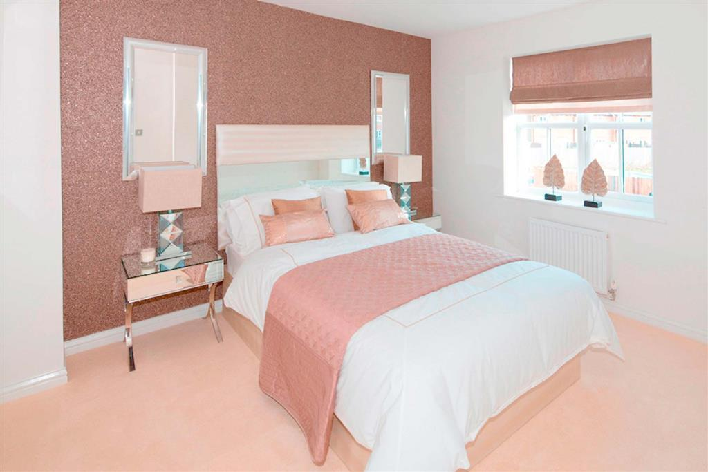 A Typical Taylor Wimpey Showhome Bedroom