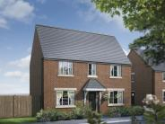 3 bed new home in Llanvair Road, Caerwent...