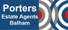 Porters Estate Agents, London branch logo
