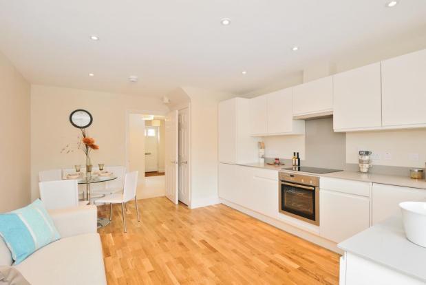 Kitchen/dining room with glazed door on to garden