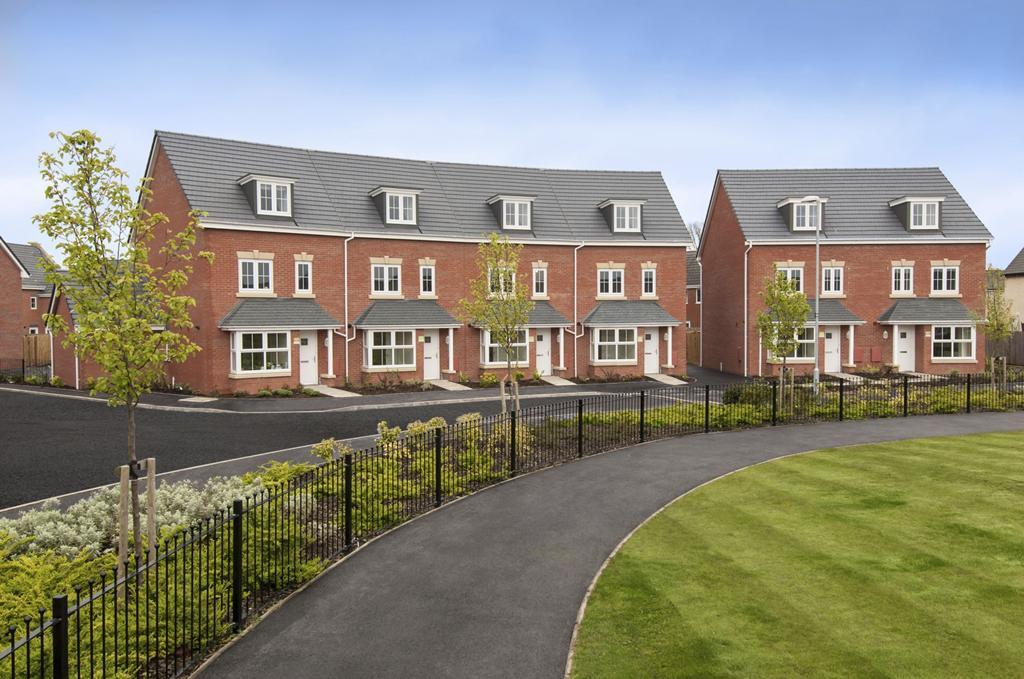 Heddington and Woodcote homes at Stephensons Place Coalville