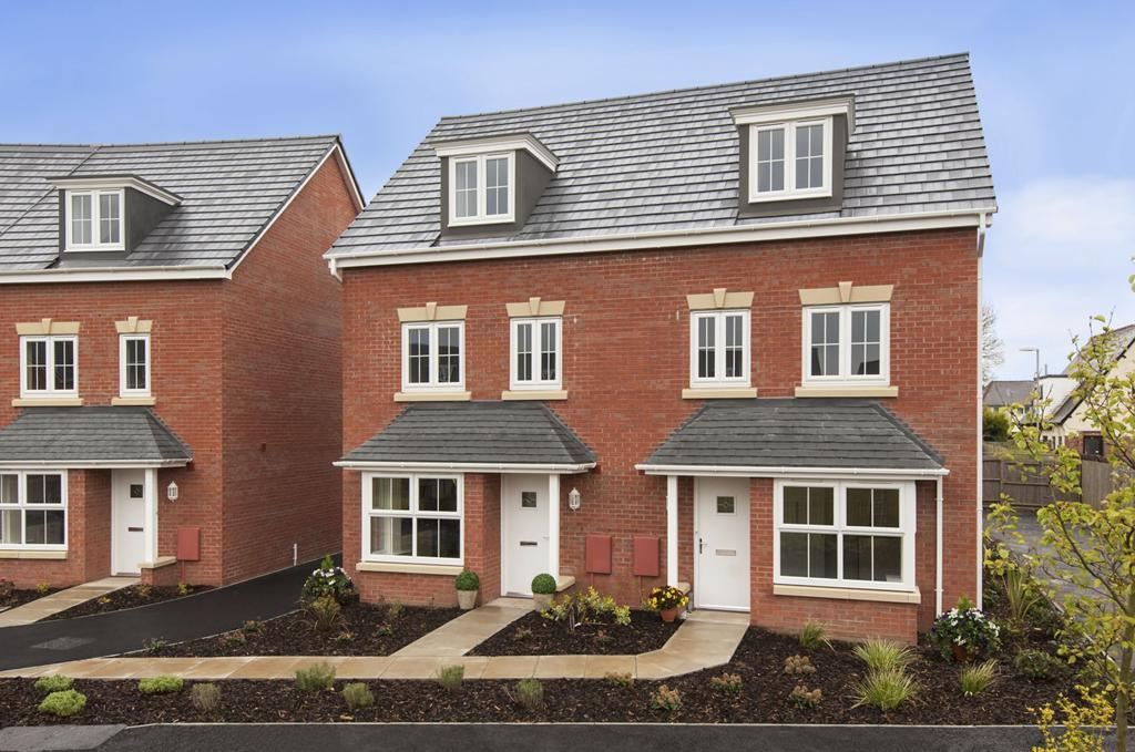 The Woodcote four bedroom home