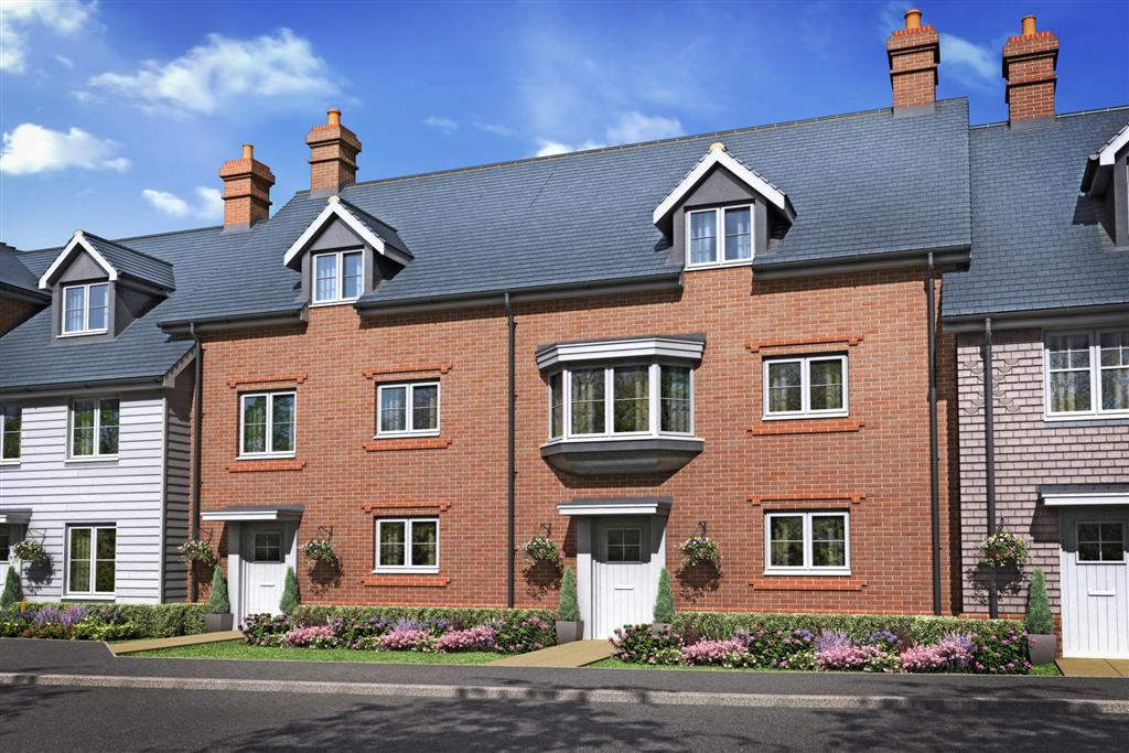 Artists Impression of The Chettle A, Queensacre at Crookham Park