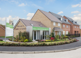 Saunderson Gardens by Barratt Homes, Green Road,