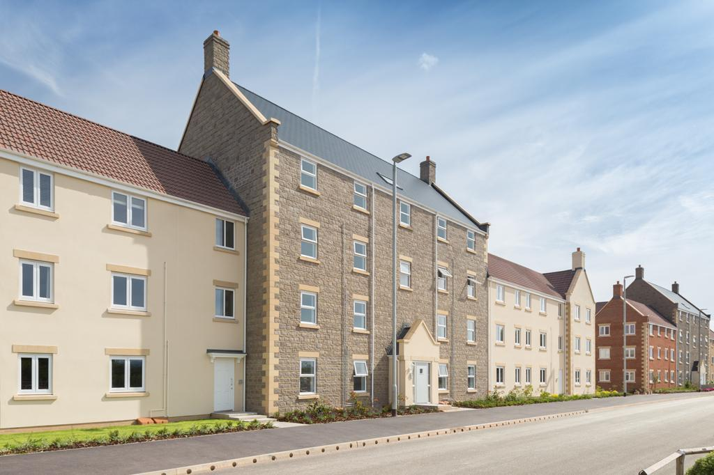 2 Bedroom Apartment For Sale In Morse Road Norton Fitzwarren Taunton Ta2 6bs Ta2