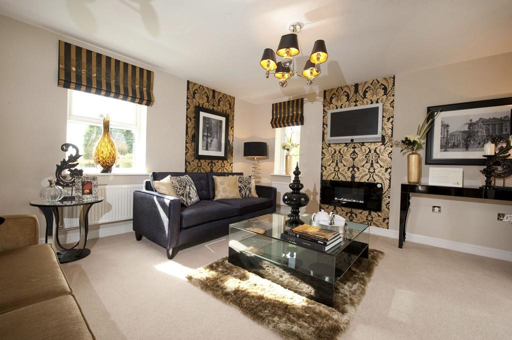 Heritage view show home lounge