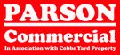 Parson Estate Agents, Commercial branch logo
