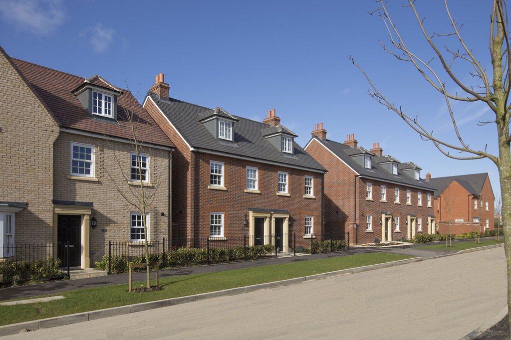 street scene Bedford meadows
