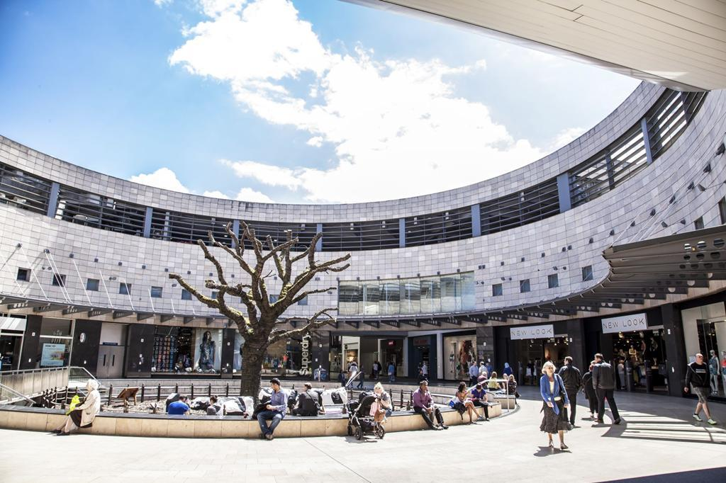 Milton Keynes shopping centre