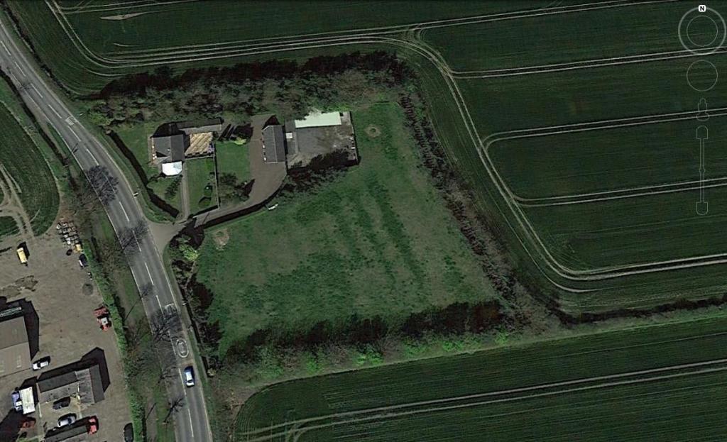 windmill farm aerial