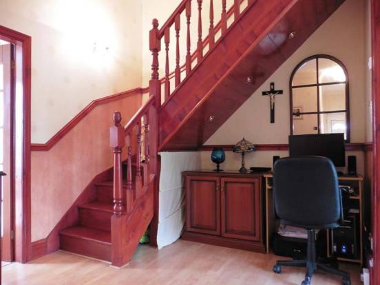 Hallway/Office Area