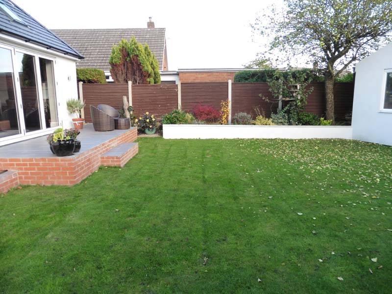 Rear Garden - South Facing
