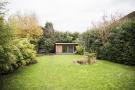 Rear garden & studio