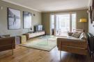 Oak floor living rm