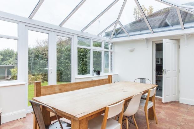 Big conservatory