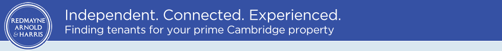 Get brand editions for Redmayne Arnold & Harris, Cambridge Lettings