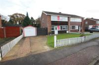semi detached house in Quantock Close...