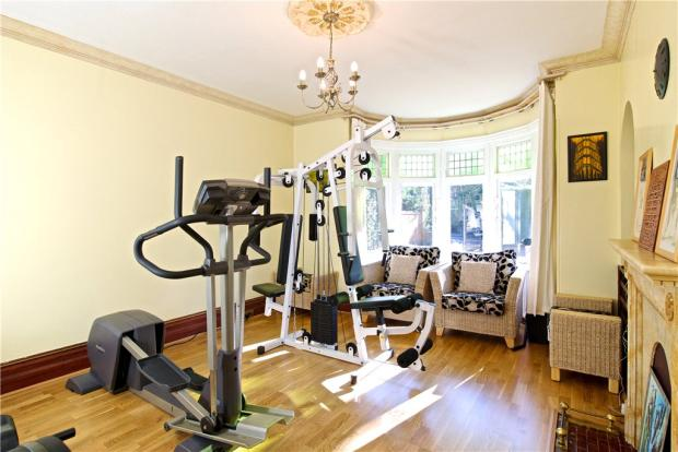 Reception Room/Gym