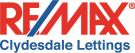 Remax Clydesdale & Tweeddale, Lanark Lettings branch logo