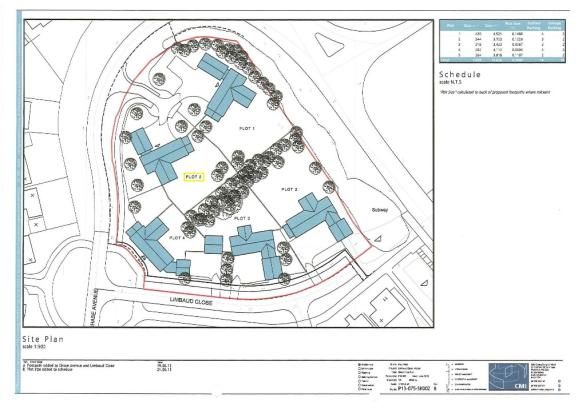 Site Plan Plot 5