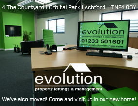 Get brand editions for Evolution Lettings, Ashford