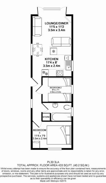 Floorplan Rosewater