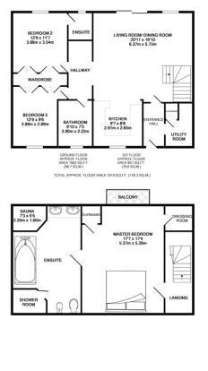 Sunflower Floor Plan