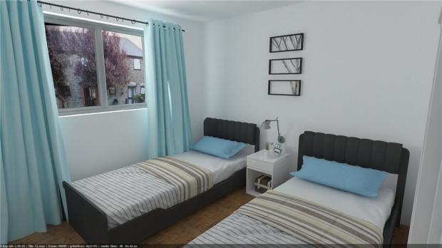 Bedroom 2 Cgi