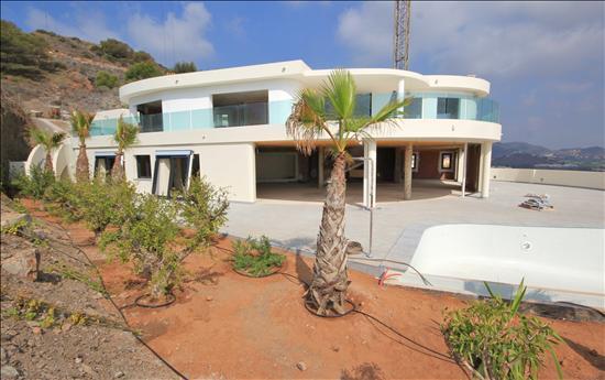 Terrace to villa