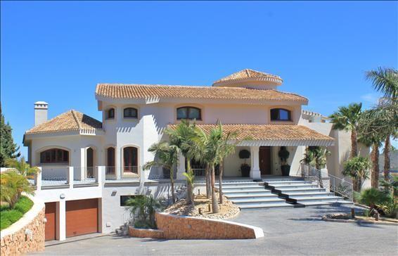 Front of Villa